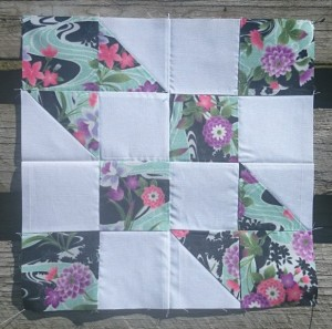 Road to Oklahoma quilt blok
